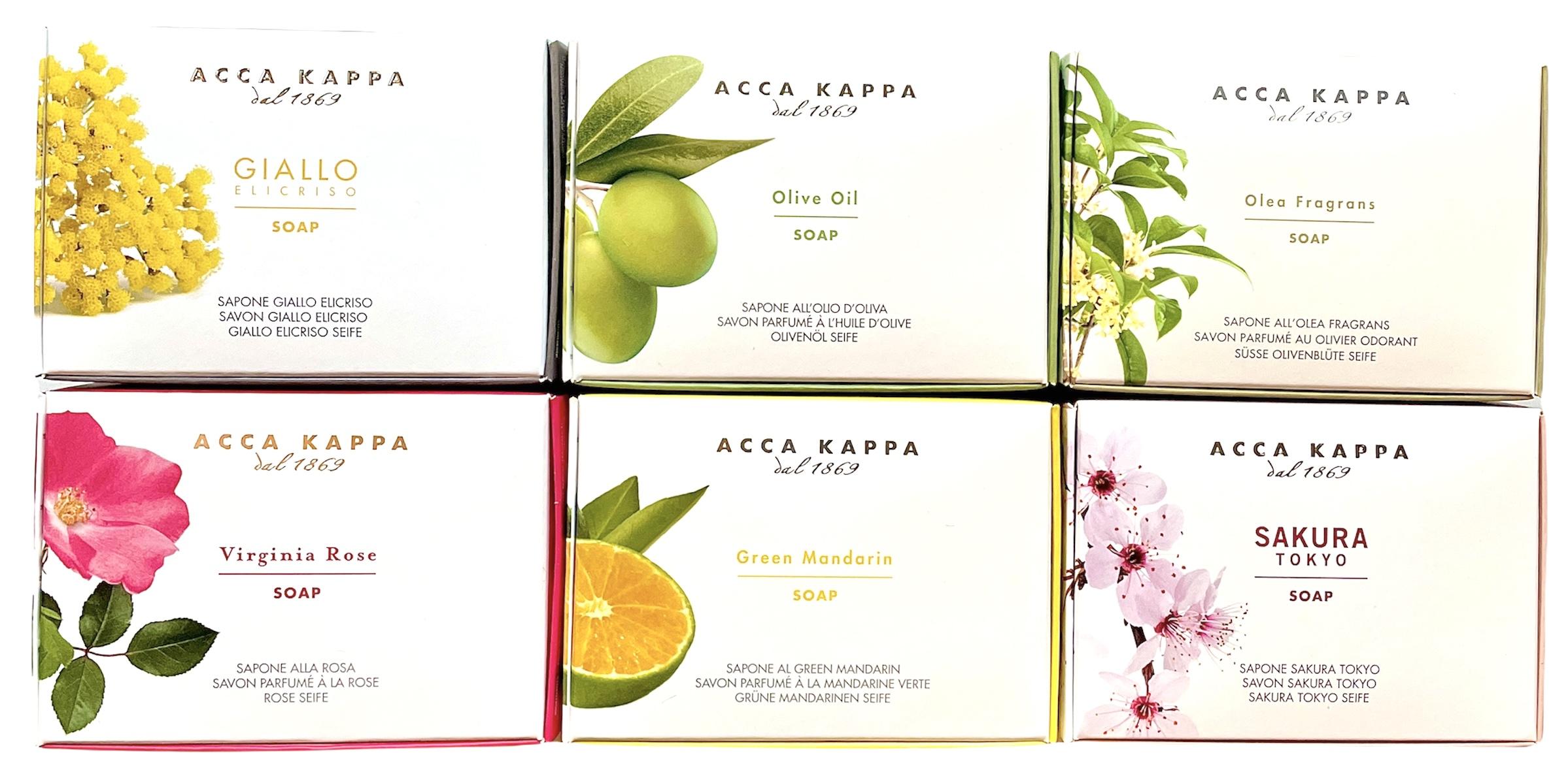 ACCA KAPPA - Seifen und Düfte aus Italien