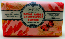 Lucy Bs Apothecary Royal Amber Honeysuckle Almond Soap