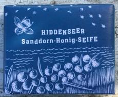 Hiddenseer Sanddorn-Honig-Seife