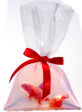 Goldfisch im Beutel - Seife