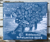 Hiddenseer Schafmilch-Seife