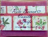 Rote Beeren und Vanille-Seife