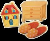 Holzmagnet-Set