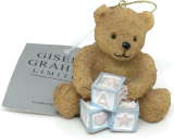 Gisela Graham-Anhänger Bärchen mit Bauklötzern