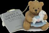 Gisela Graham-Anhänger Bärchen mit Schaukelpferd