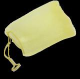 Seifenrestebeutel Perli - gelb